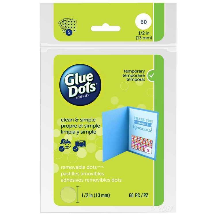 Glue Dots Removable Dots Sheets
