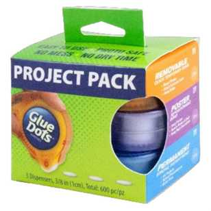 Glue Dots Project Pack