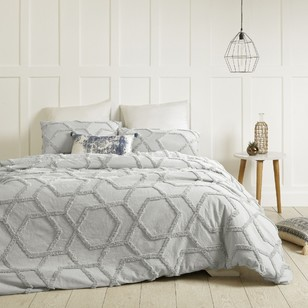 Living Space Granada Tufted Quilt Cover Set