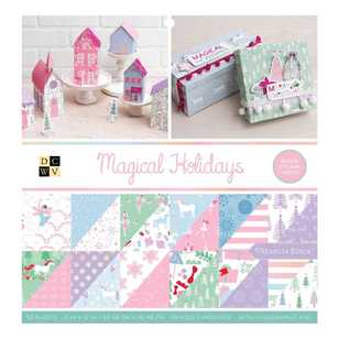 Die Cuts With A View Magical Holidays Paper Pad