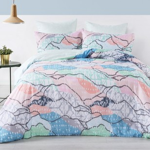Brampton House Azalea Quilt Cover Set - Everyday Bargain