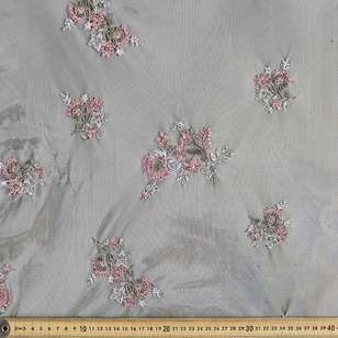 Embroidered Tulle 5 140 cm Fabric