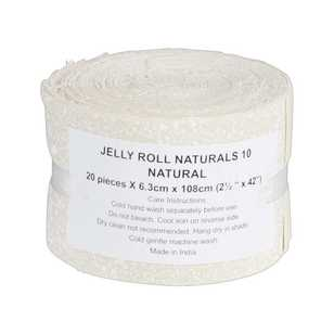 Naturals 10 Jelly Roll 20 Piece