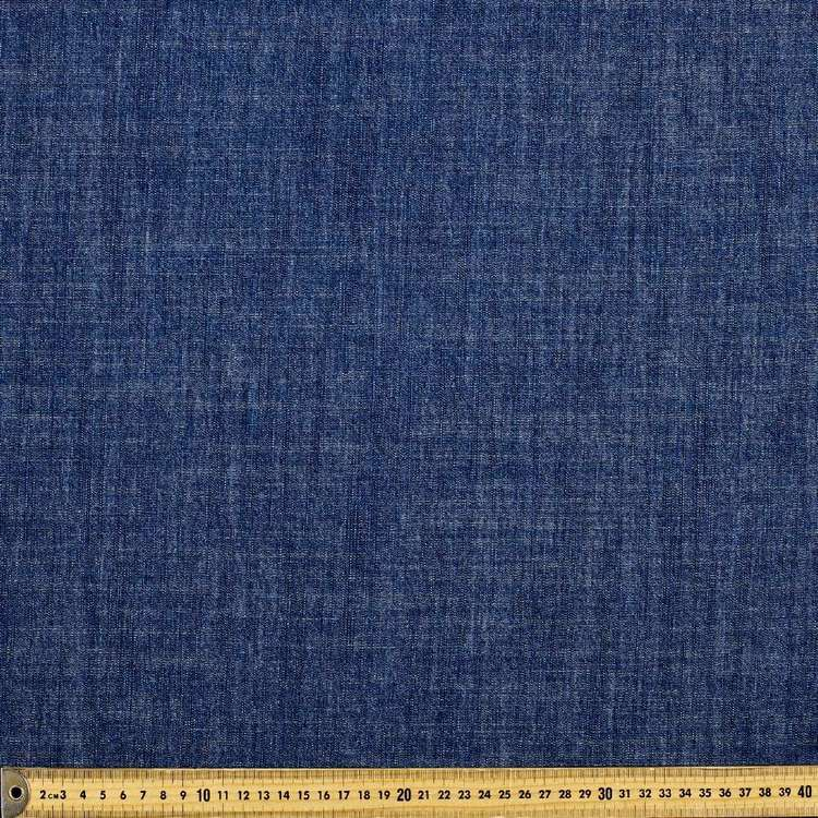 Plain Slub Denim Fabric