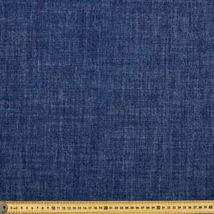 Plain Slub Denim Fabric