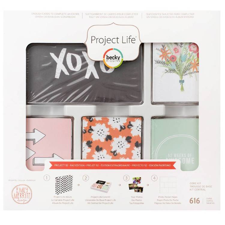 Project Life Project-52 Core Kit