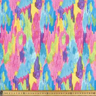 Printed Duck Colour Clouds 112 cm Fabric