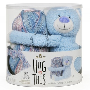 DMC Hug This Teddy Yarn Kit