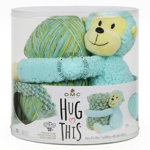DMC Hug This Monkey Yarn Kit