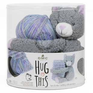 DMC Hug This Kitten Yarn Kit
