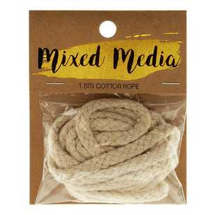 Mixed Media Cotton Rope 1.5 m