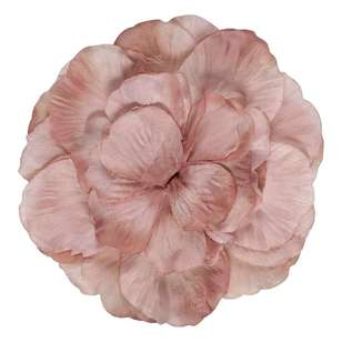 Organza Flower with Clip