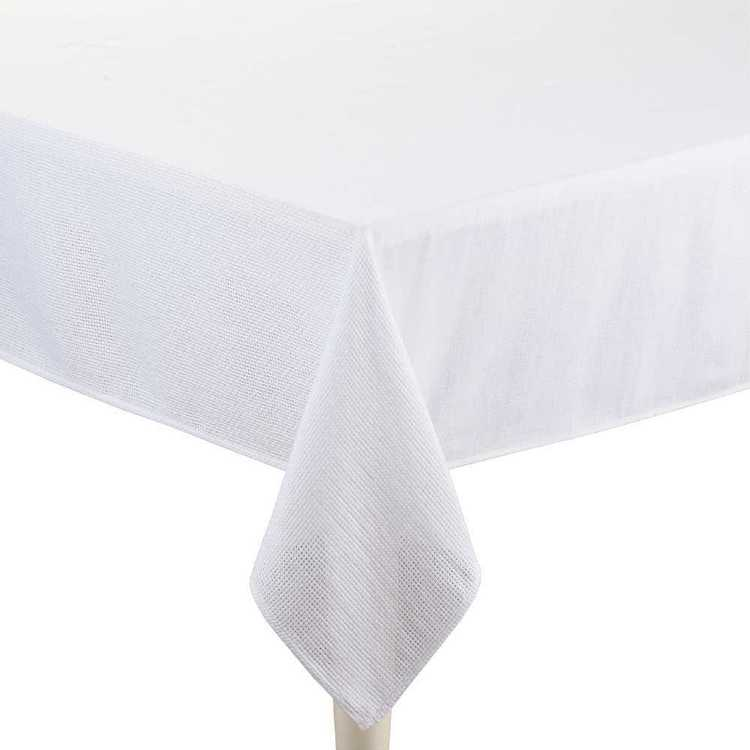 Living Space Aspen Textured Tablecloth