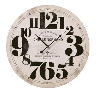 Cooper & Co MDF Big Numbers Wall Clock