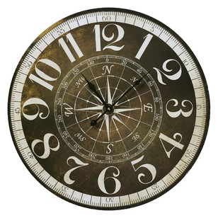 Cooper & Co Compass 58 cm Wall Clock