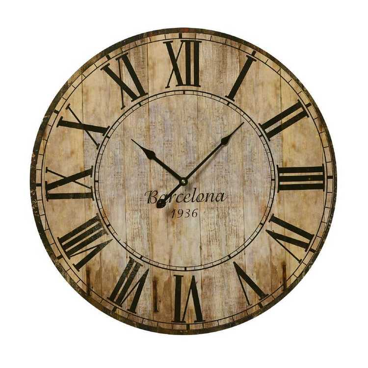 Cooper & Co MDF Clocks Design 4