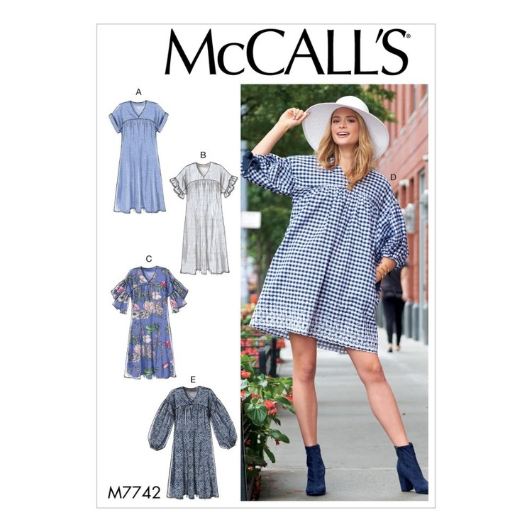 McCall's Pattern M7742 Misses' Dresses