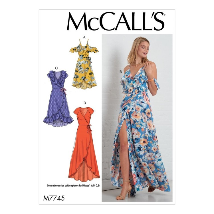 McCall's Pattern M7745 Misses' Dresses