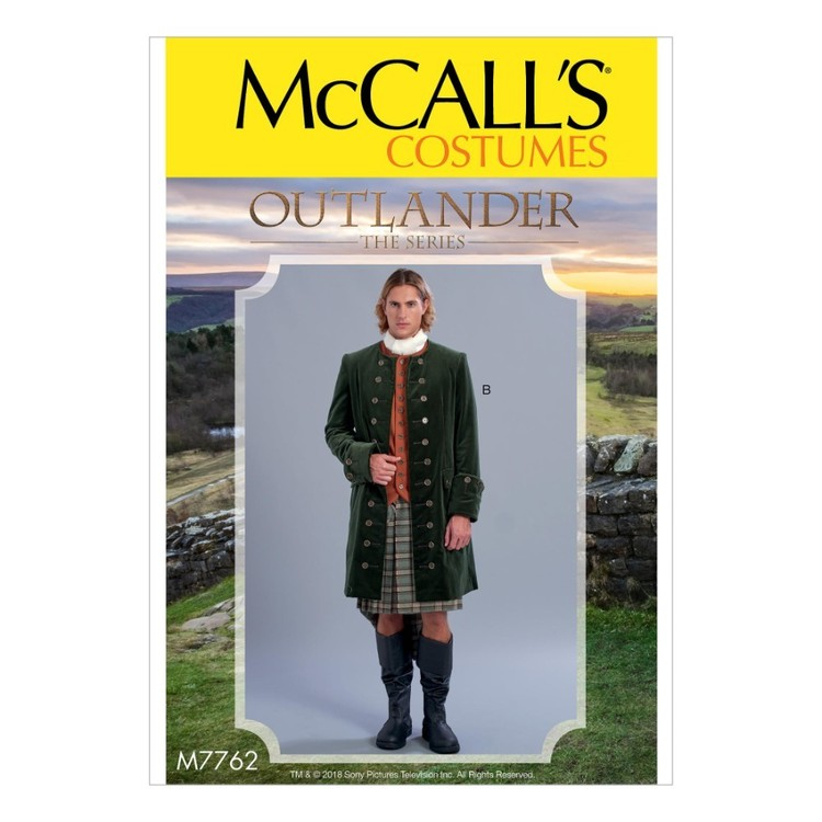 McCall's Pattern M7762 Outlander The Series Men's Coats
