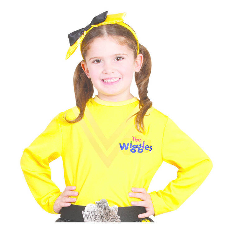 The Wiggles Costume Top Emma Yellow