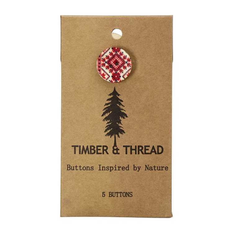 Timber & Thread Buttons Style 1