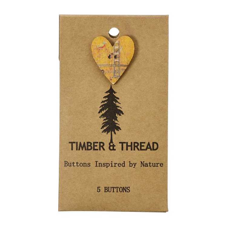 Timber & Thread Buttons Style 3