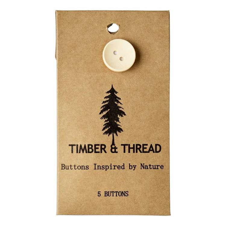 Timber & Thread Buttons Style 16