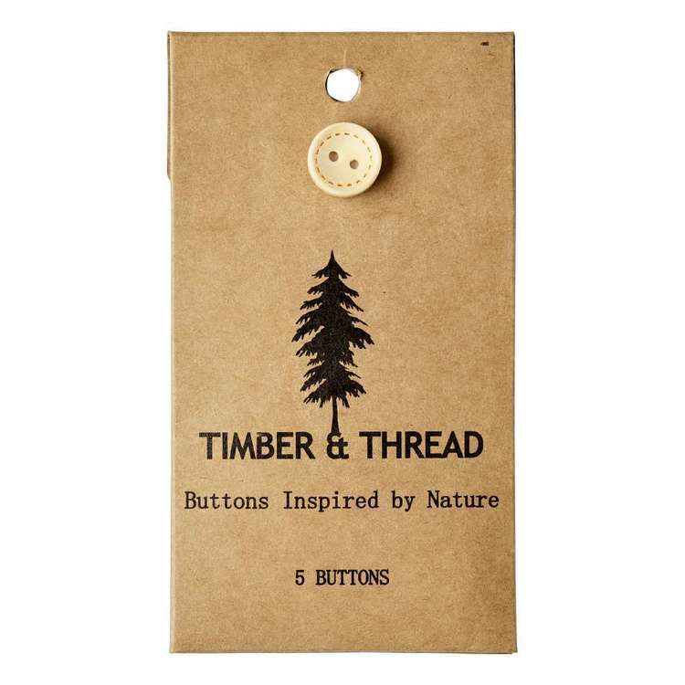 Timber & Thread Buttons Style 17