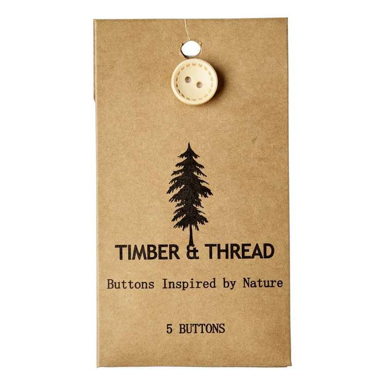 Timber & Thread Buttons Style 18