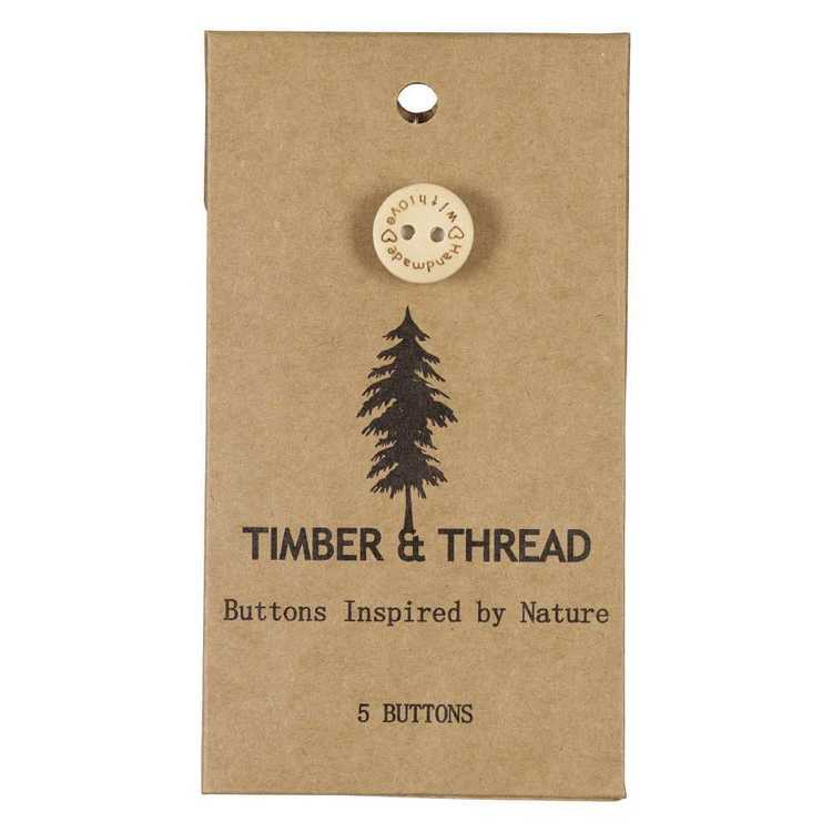 Timber & Thread Buttons Style 19