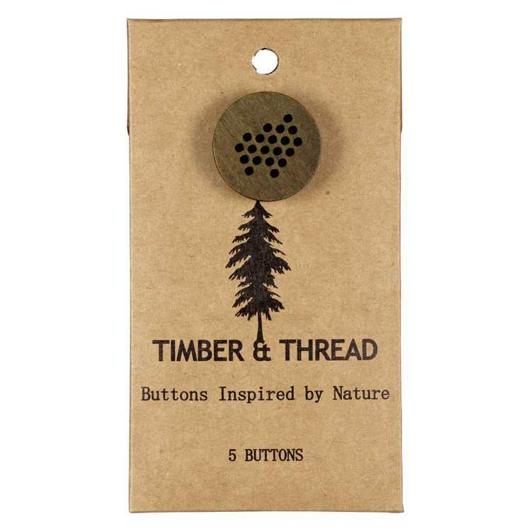 Timber & Thread Buttons Style 22