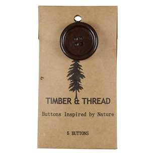 Timber & Thread Buttons Style 23