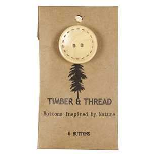 Timber & Thread Buttons Style 24