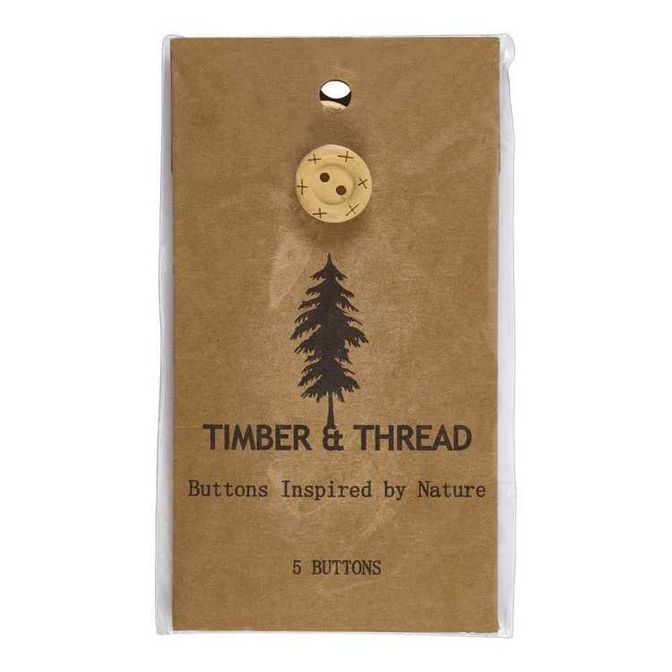 Timber & Thread Buttons Style 25