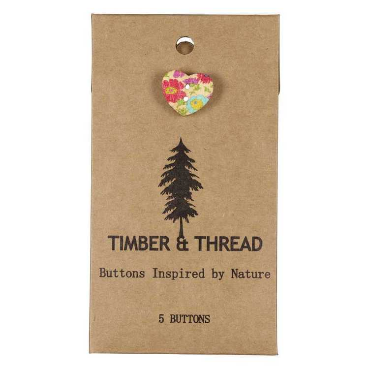 Timber & Thread Buttons Style 26