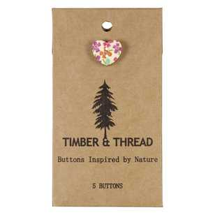 Timber & Thread Buttons Style 27