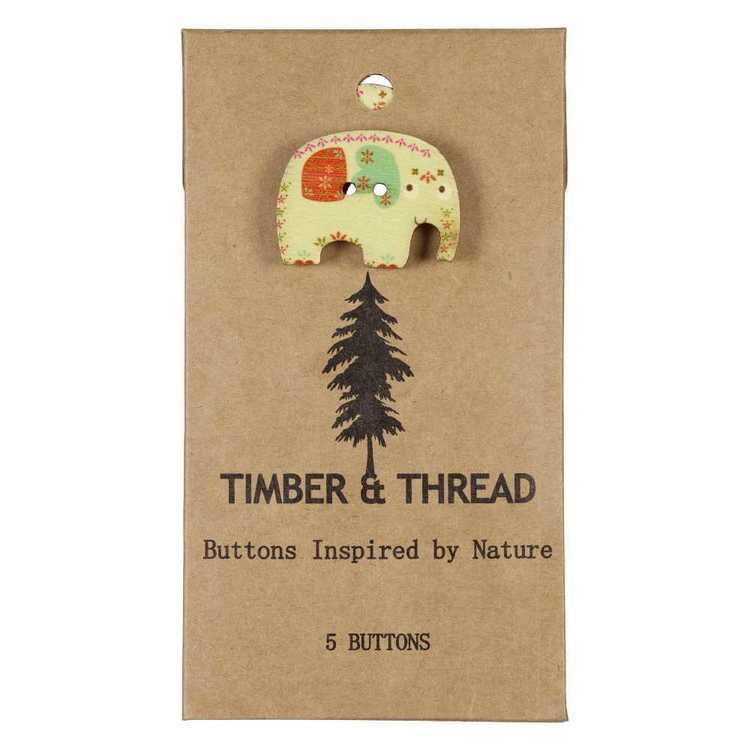 Timber & Thread Buttons Style 28