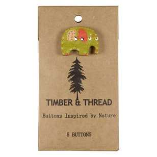 Timber & Thread Buttons Style 29