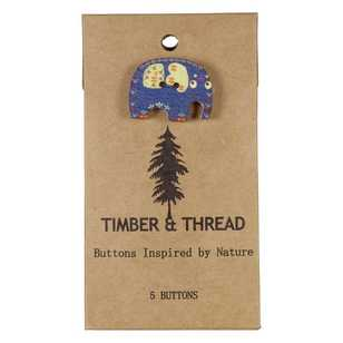 Timber & Thread Buttons Style 30