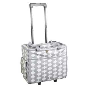 Plus Patterned Semco Trolley Bag