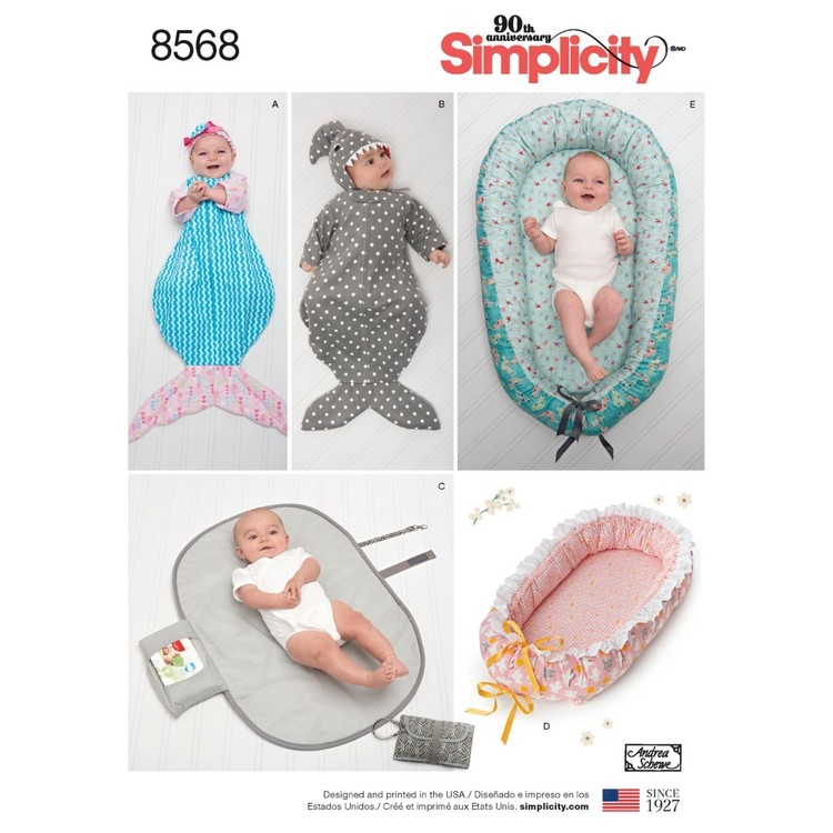 Simplicity Pattern 8568 Baby Accessories