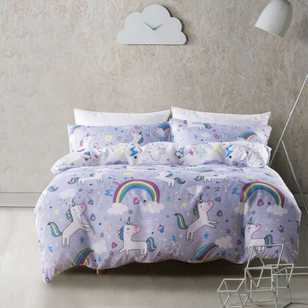 Kids House Unicorn Dream Quilt Cover Set