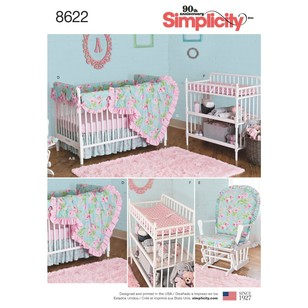 Simplicity Pattern 8622 Nursery Decor