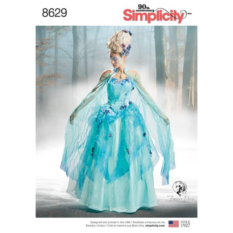 Simplicity Pattern 8629 Misses' Costume