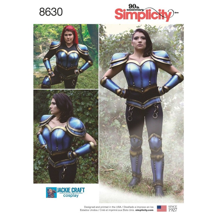 Simplicity Pattern 8630 Misses' Cosplay Armor