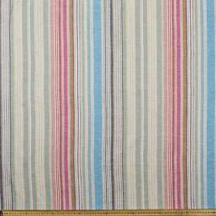 Free Multicoloured Stripes Yarn Dyed Cotton Fabric