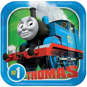 No.1 Thomas 7 Inch Square Plates