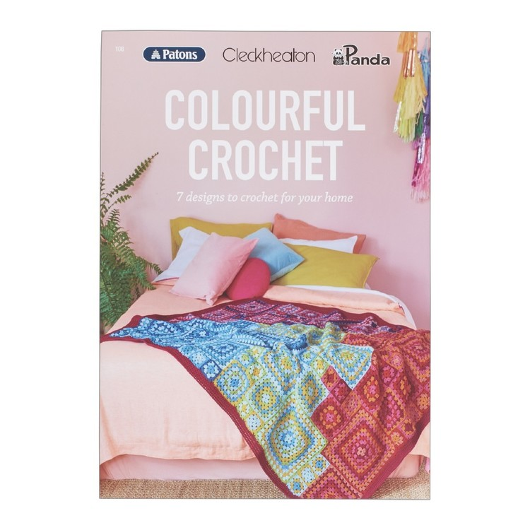 Cleckheaton Colourful Crochet 108 Pattern Book