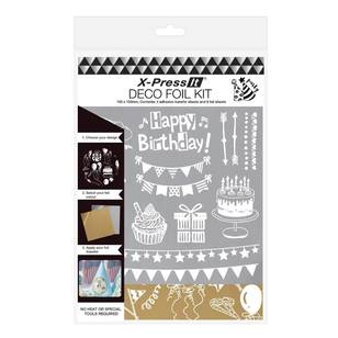 X-Press It Deco Foil Party Kit