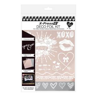 X-Press It Deco Foil Love Kit
